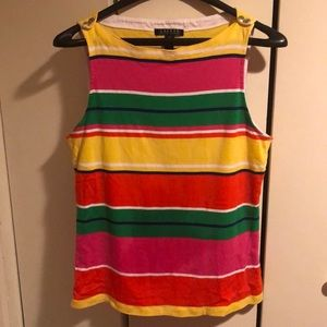 Beautiful striped Ralph Lauren tank top
